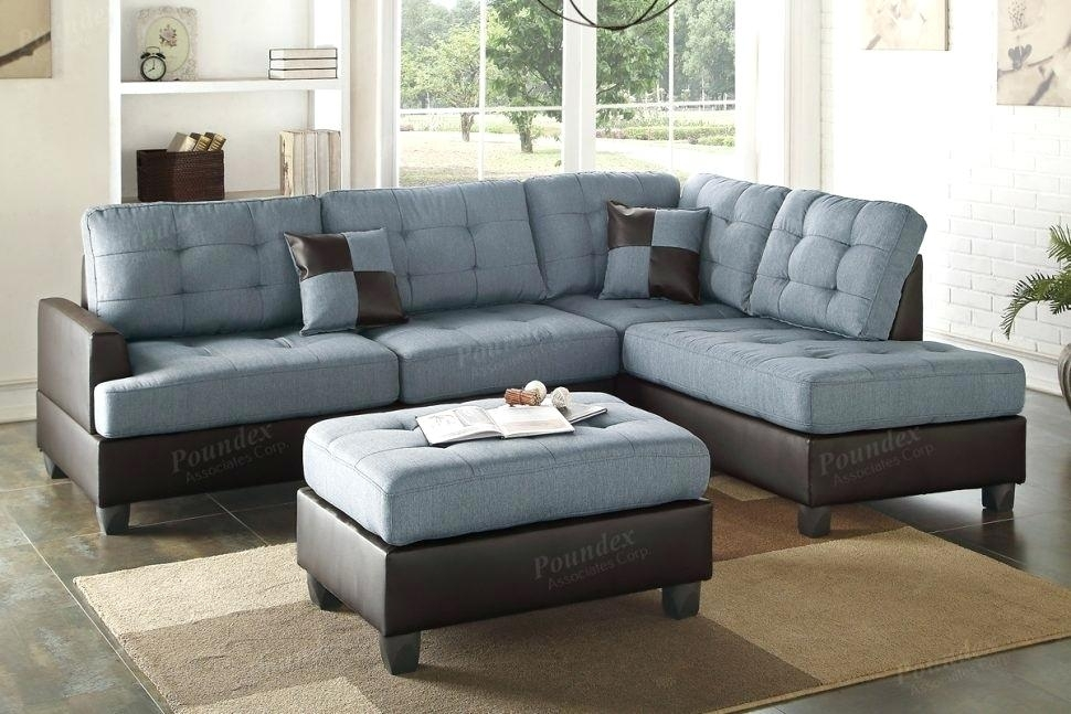 Marvelous Sectional Sofa With Oversized Ottoman Medium Size Of Regarding Sectionals With Ottoman (Image 5 of 10)