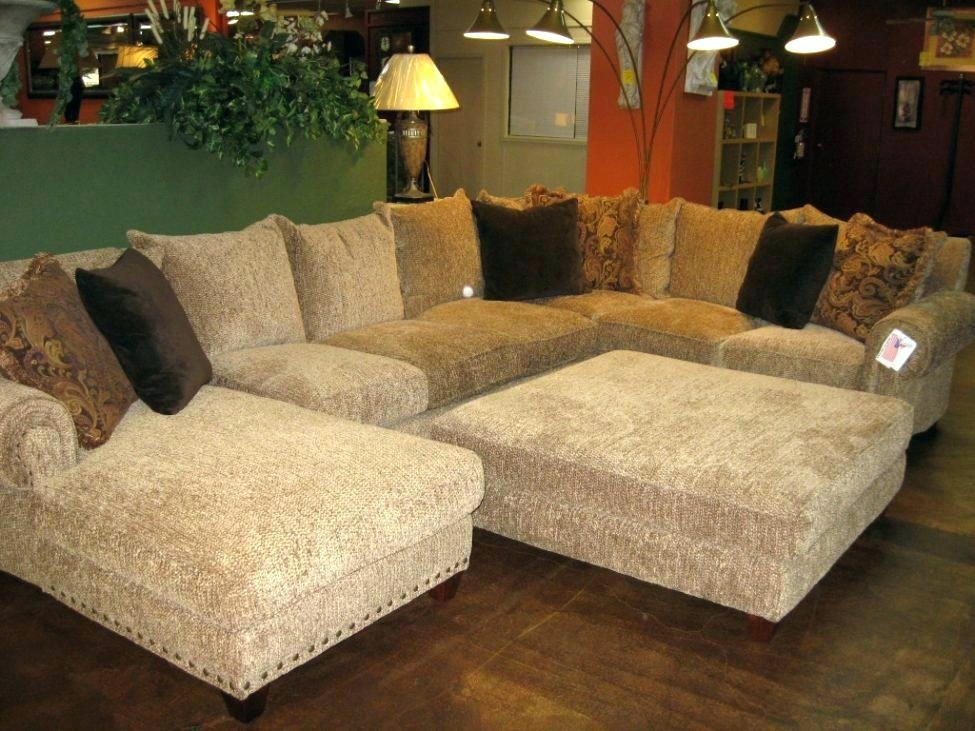 Marvelous Sectional Sofa With Oversized Ottoman Medium Size Of Throughout Sectional Sofas With Oversized Ottoman (View 5 of 10)