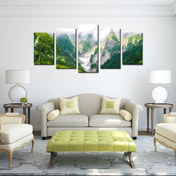 Massive Selection For Framed Landscape Canvas Print Green Mountain Inside Ottawa Canvas Wall Art (Image 12 of 20)