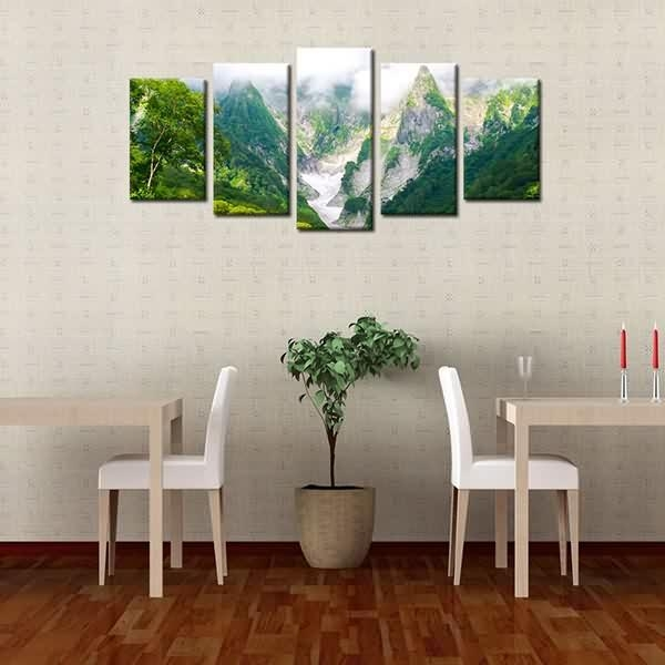 Massive Selection For Framed Landscape Canvas Print Green Mountain Regarding Ottawa Canvas Wall Art (Image 13 of 20)