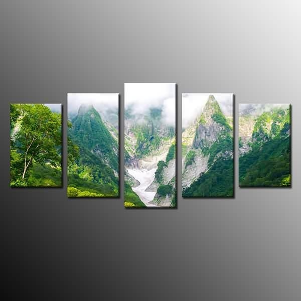 Massive Selection For Framed Landscape Canvas Print Green Mountain With Ottawa Canvas Wall Art (Image 14 of 20)