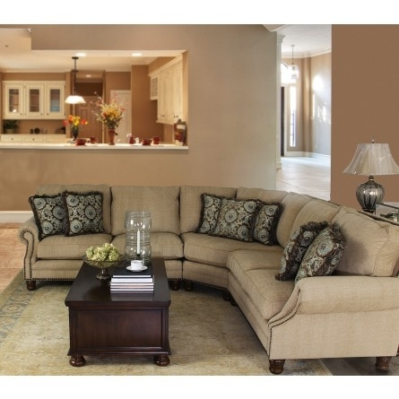 Mayo Austin Wheat Sectional – Sofa Sectional Living Room Gallery In Gallery Furniture Sectional Sofas (Image 9 of 10)