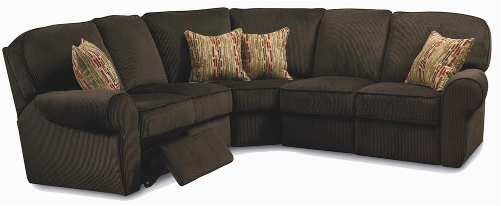 Megan 3 Piece Sectional Sofalane | Reclining Sectional Sofas In Lane Furniture Sofas (Image 9 of 10)