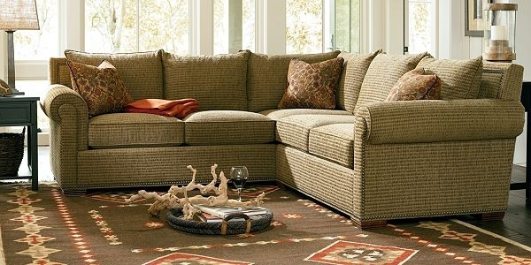 Mercer Sectional Has Soooo Many Leather Choices Sofas Thomasville For Thomasville Sectional Sofas (Image 1 of 10)