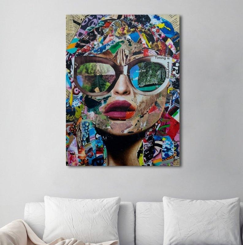Mercury Row 'timing Is Everything' Graphic Art On Wrapped Canvas Intended For Canvas Wall Art At Wayfair (Image 12 of 20)