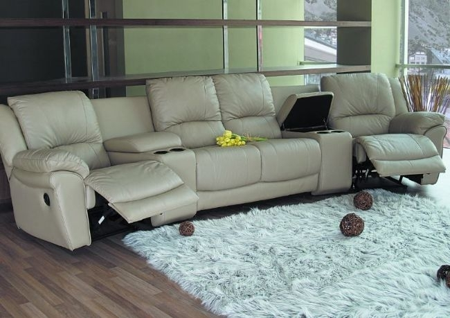 Mesmerizing Home Theater Sectional At Coaster Sofas And Sectionals Throughout Theatre Sectional Sofas (View 8 of 10)