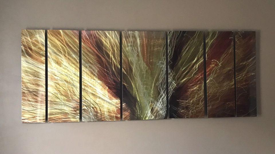 Metal Abstract Wall Art | Arts & Collectibles | Calgary | Kijiji Inside Ottawa Abstract Wall Art (View 11 of 20)