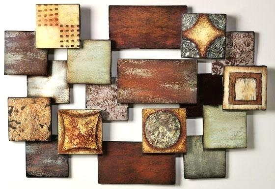 Metal Abstract Wall Art Full Size Of Modern Metal Abstract Wall Inside Geometric Modern Metal Abstract Wall Art (View 8 of 20)
