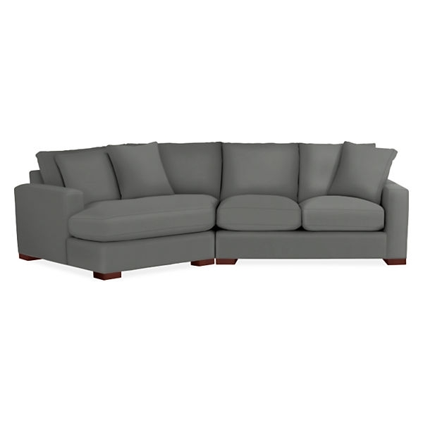 Metro Sofas With Angled Chaise Intended For Angled Chaise Sofas (Image 8 of 10)