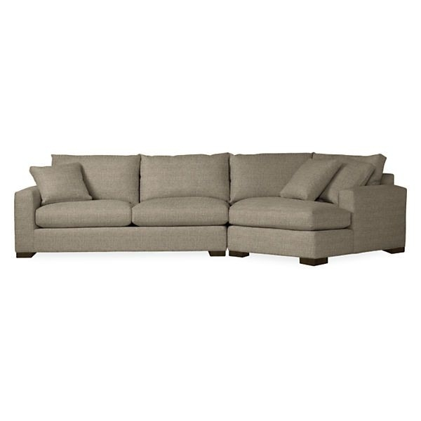 Metro Sofas With Angled Chaise – Metro Sofa With Right Arm Angled Intended For Angled Chaise Sofas (Image 6 of 10)