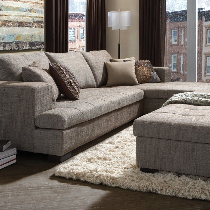 Metropolitan Fabric Sectional – Sectionals – Living Room – Urban Regarding Mobilia Sectional Sofas (Image 4 of 10)