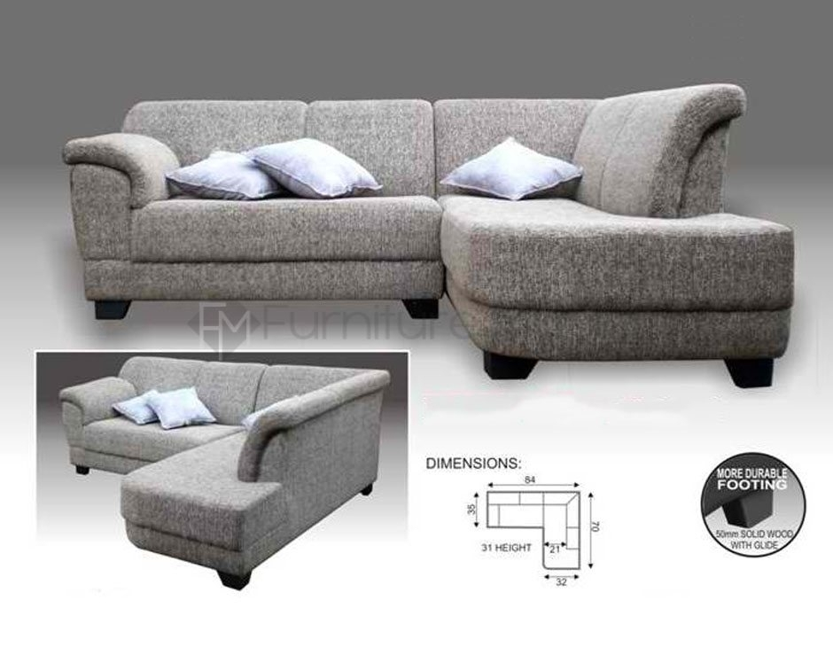 Mhl 006 Finland L Shaped Sofa | Home & Office Furniture Philippines With Regard To Philippines Sectional Sofas (Image 5 of 10)
