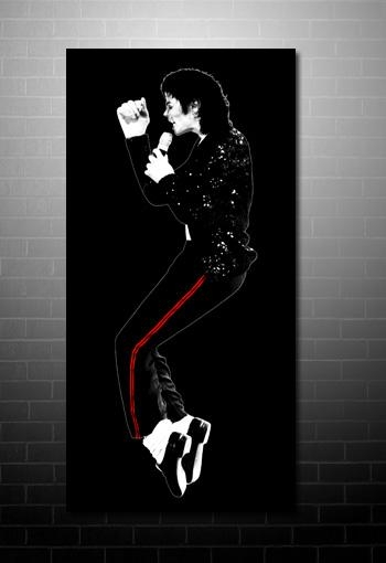 Michael Jackson Canvas For Michael Jackson Canvas Wall Art (View 3 of 20)