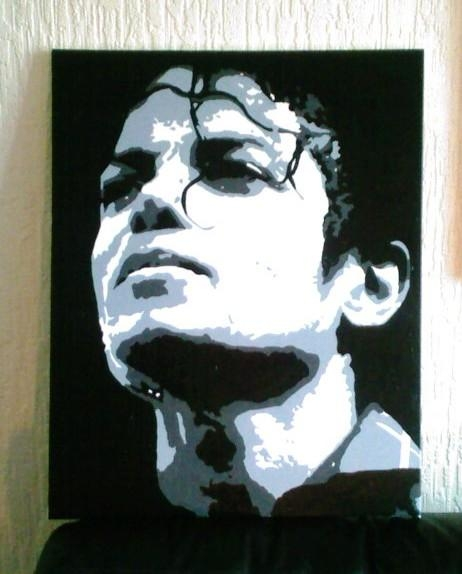 Michael Jackson Pop Art Canvascovtown31 On Deviantart Regarding Michael Jackson Canvas Wall Art (View 9 of 20)