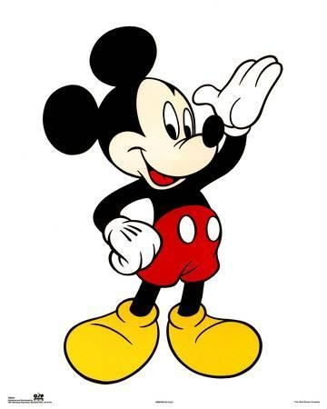 Mickey Mouse Posters At Allposters With Mickey Mouse Canvas Wall Art (View 7 of 20)