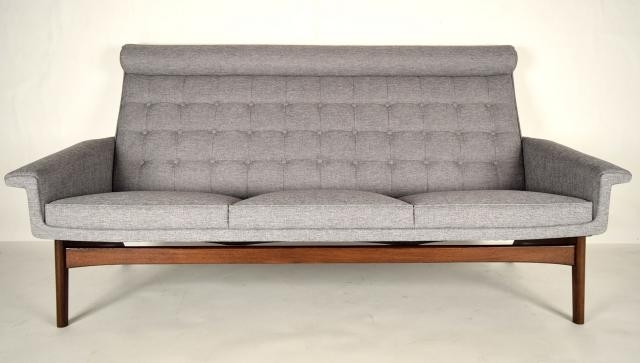 Mid Century Modern 3 Seater Sofapoul Jensen, 1960S For Sale At Intended For Modern 3 Seater Sofas (View 10 of 10)