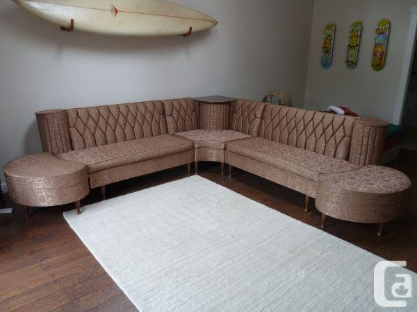 Mid Century Retro Vintage 1950S Sectional Sofa – (Tofino) For Sale With Regard To Victoria Bc Sectional Sofas (Image 8 of 10)