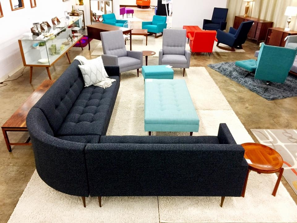 Mid Century Salvage – Located In Charlotte, Nc | Mid Century Salvage Regarding Sectional Sofas In Charlotte Nc (Image 1 of 10)