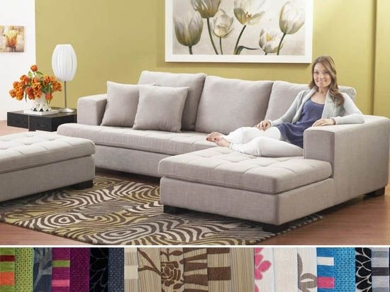 Mirak Sectional – Dania | For The Home | Pinterest | Ottomans, House Intended For Dania Sectional Sofas (Image 5 of 10)