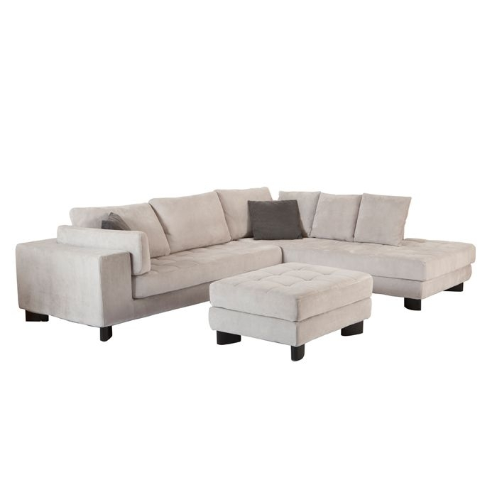Mobilia (In Grey) Vegas Fabric Sectional – Sectionals – Living Room For Mobilia Sectional Sofas (Image 5 of 10)