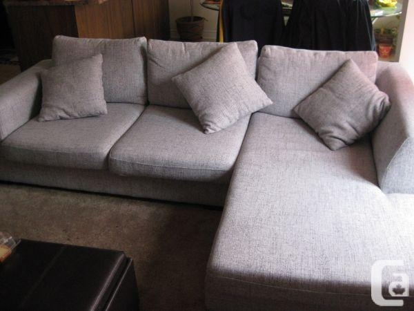 Mobilia L Shape Sectional Couch – For Sale In Toronto, Ontario Within Mobilia Sectional Sofas (Image 6 of 10)