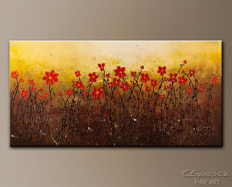 Modern Abstract Art Painting For Sale Where Happiness Grows Throughout Happiness Abstract Wall Art (Image 19 of 20)
