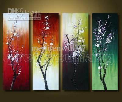 Modern Abstract Huge Wall Art Oil Painting On Canvas Feng Shui In Abstract Fish Wall Art (View 12 of 20)