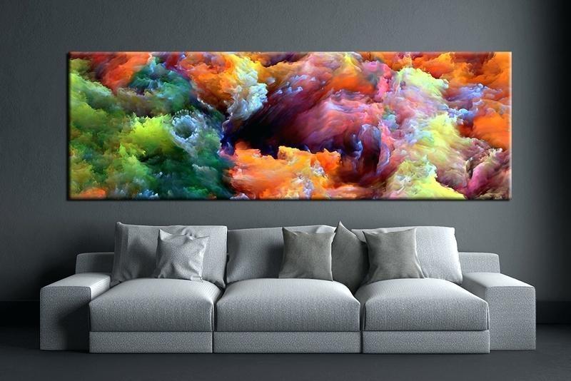 Modern Abstract Wall Art – Elkar (Image 18 of 20)