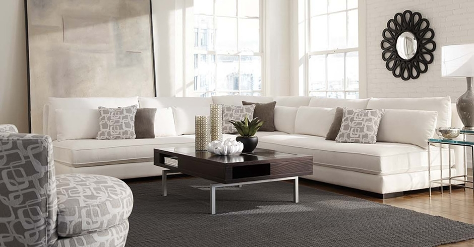 Modern Armless Sectional Chill 62509 Expensive Younger Living Room Intended For Made In Usa Sectional Sofas (View 6 of 10)