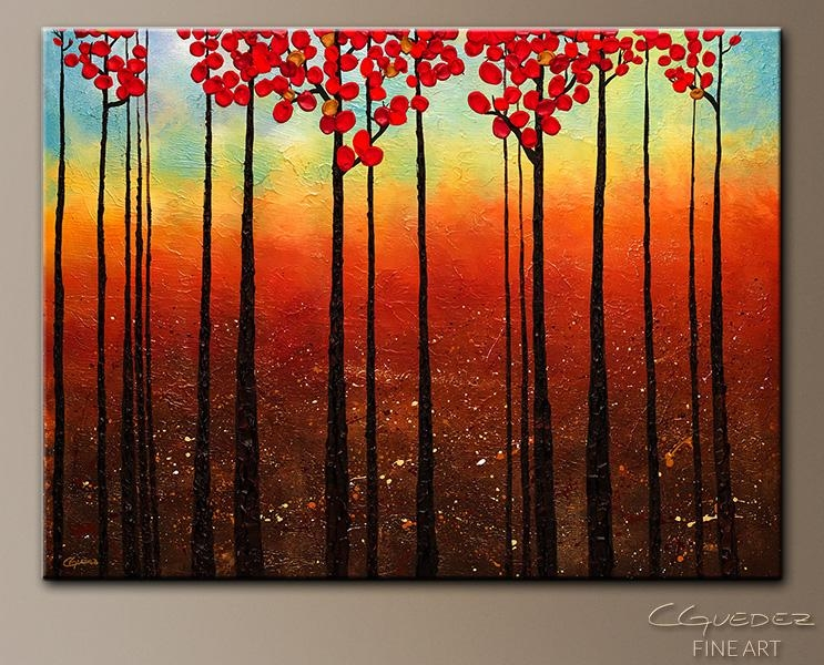 Modern Artwork On Canvas | Spring Ahead Modern Abstract Painting With Ottawa Abstract Wall Art (View 8 of 20)