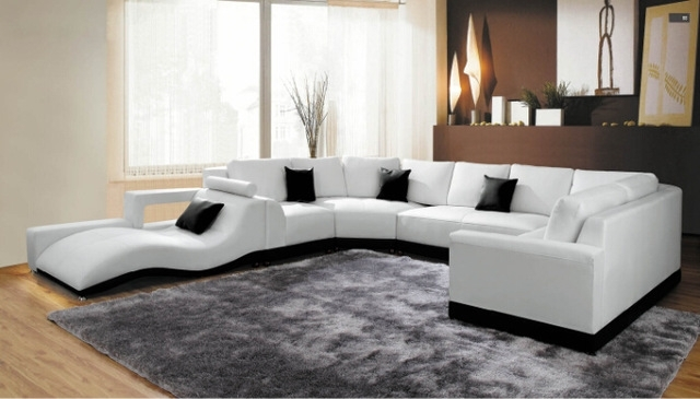 Modern Corner Sofas And Leather Corner Sofas For Sofa Set Living Intended For Leather Corner Sofas (View 2 of 10)