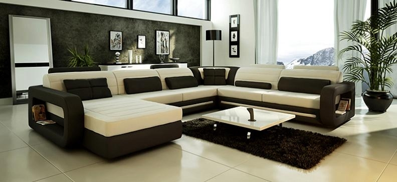 Modern Custom Leather Sofa – Sectional Sofas And Sofa Furniture In With Regard To Mississauga Sectional Sofas (Image 6 of 10)