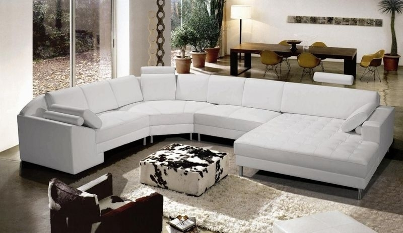 Modern Leather Sectional Sofa Tosh Furniture Tos Vt S893 | Sectional Inside Vt Sectional Sofas (Image 7 of 10)