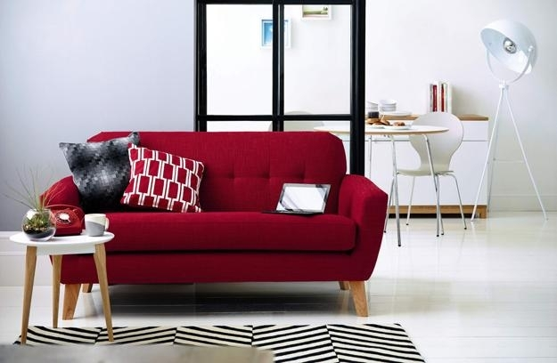 Modern Living Room Furniture Spicing Up Home Decor With Colorful Sofas And Chairs (Image 8 of 10)