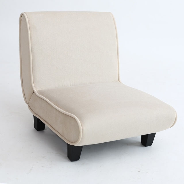 Modern Mini Sofa Chair Furniture Upholstered Single Sofa Seater For Mini Sofas (Image 6 of 10)
