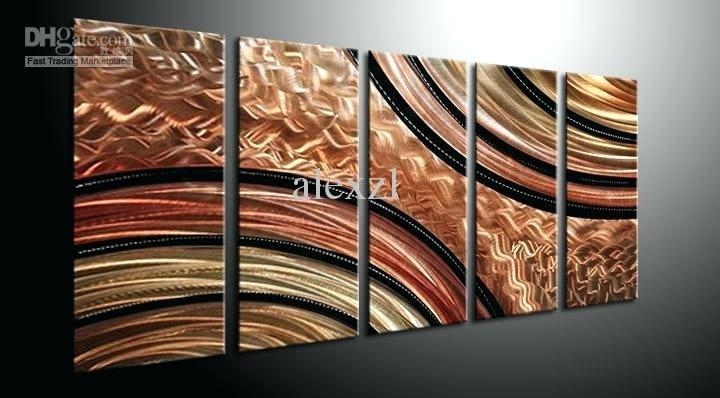 Modern Oversized Wall Art Metal Wall Art Abstract Contemporary With Regard To Modern Abstract Huge Wall Art (Image 12 of 20)