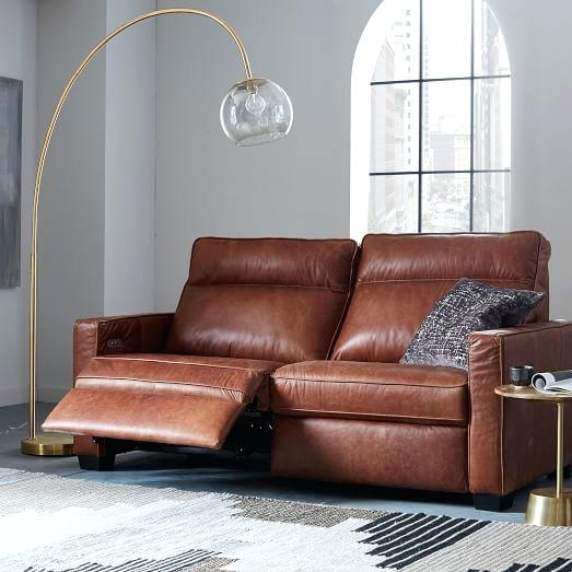 Modern Recliner Sofa – Wojcicki In Modern Reclining Leather Sofas (Image 4 of 10)