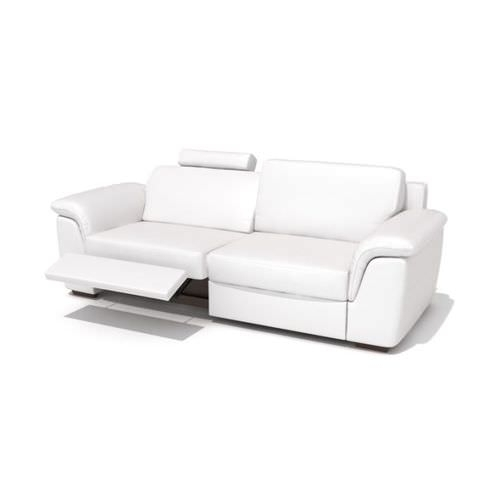 Modern Reclining Leather Sofa 3D | Cgtrader Throughout Modern Reclining Leather Sofas (Image 6 of 10)