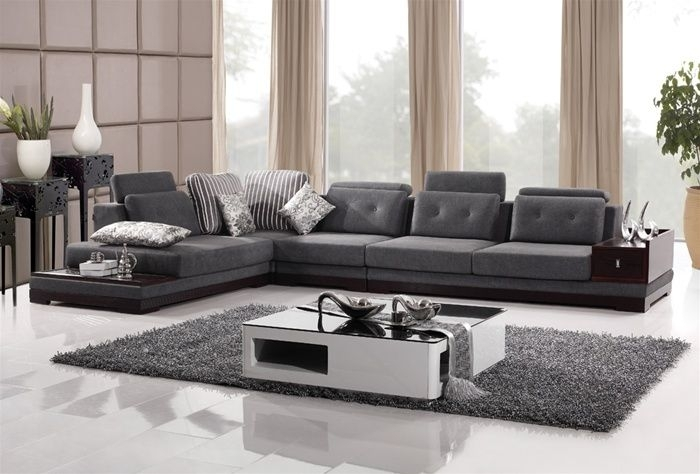 Modern Sectional Sofa – Dixie Furniture Pertaining To Modern Sectional Sofas (Image 6 of 10)