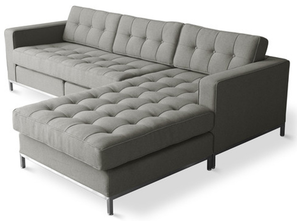 Modern Sectional Sofas For Small Spaces : Modern Sectional Sofas Inside Modern Sectional Sofas For Small Spaces (View 8 of 10)