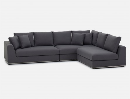 Modern Sectional Sofas – Modular Leather Couches | Structube Intended For Structube Sectional Sofas (Photo 6 of 10)