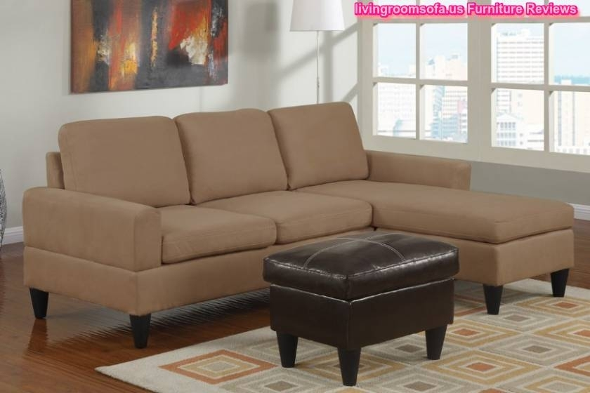 Modern Style Apartment Size Leather Sectional Sofa And Exquisite Throughout Virginia Beach Sectional Sofas (View 3 of 10)