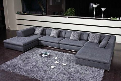 Featured Image of Modern U Shaped Sectionals