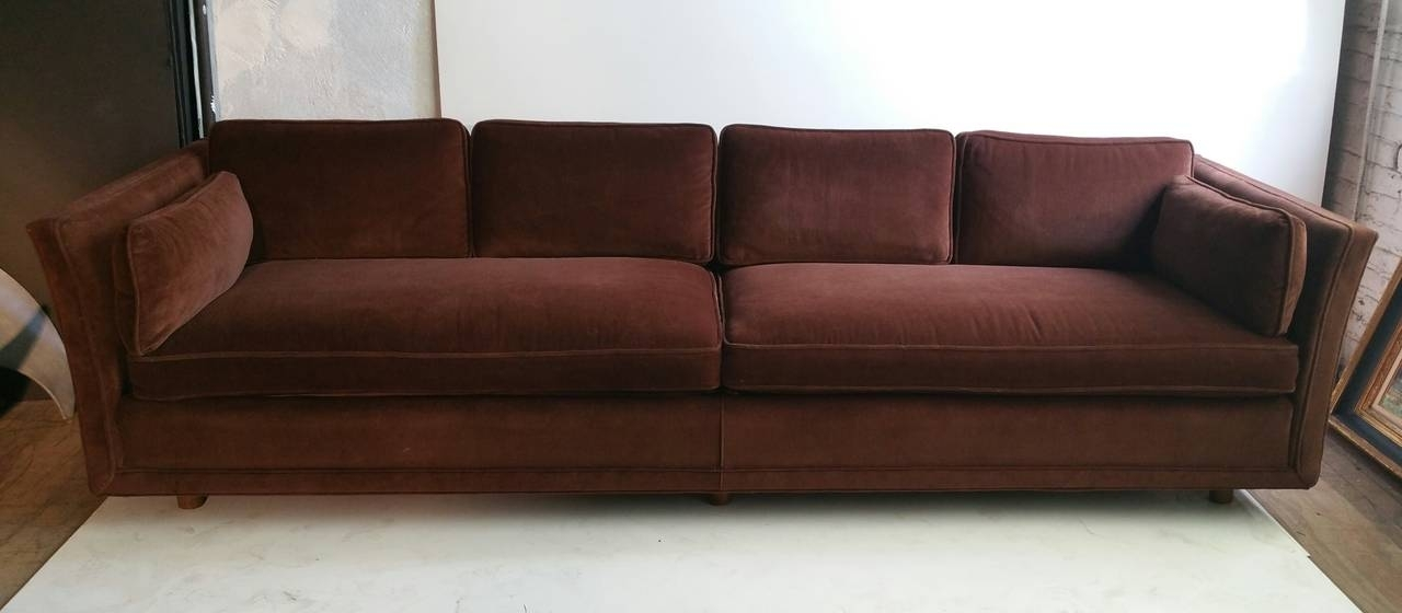 Modernist Four Seater Sofa, Designedharvey Probber At 1Stdibs In Four Seater Sofas (Image 8 of 10)