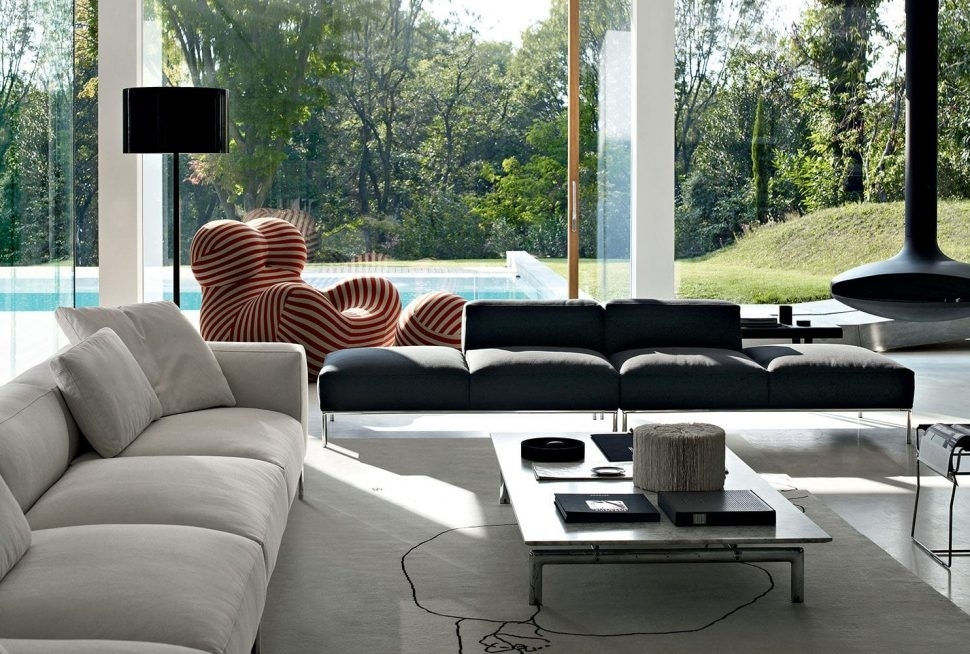 Modular Sectional Sofa Microfiber (View 9 of 10)