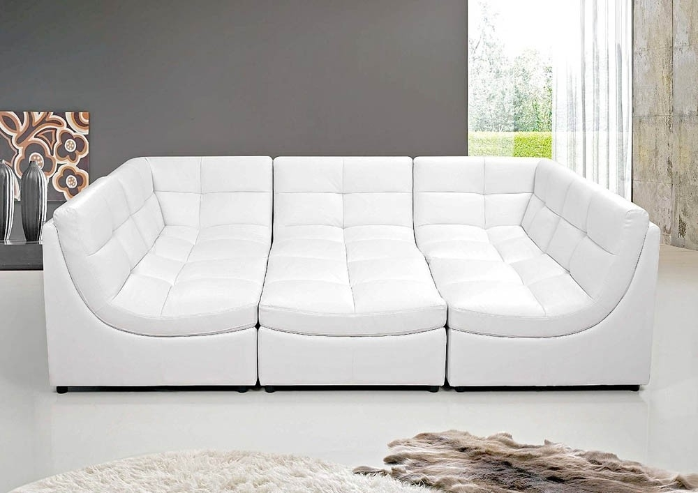Modular Sectional Sofa With Regard To Leather Modular Sectional Sofas (Image 8 of 10)