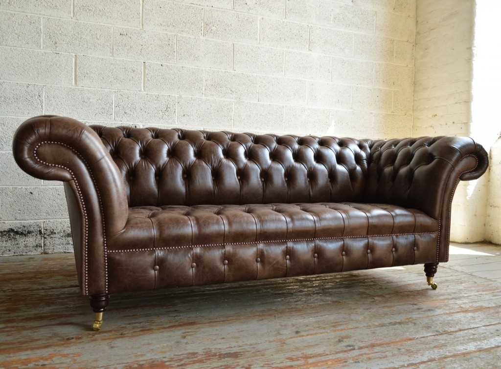 Montana Leather Chesterfield Sofa | Abode Sofas Throughout Chesterfield Sofas And Chairs (Image 7 of 10)