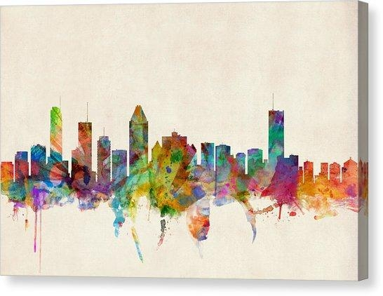 Montreal Canvas Prints | Fine Art America With Regard To Montreal Canvas Wall Art (Image 15 of 20)