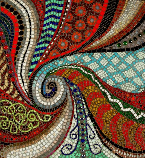 Mosaic Artists Gallery Photos Of Abstract Mosaics – Showcase Mosaics For Abstract Mosaic Wall Art (View 8 of 20)