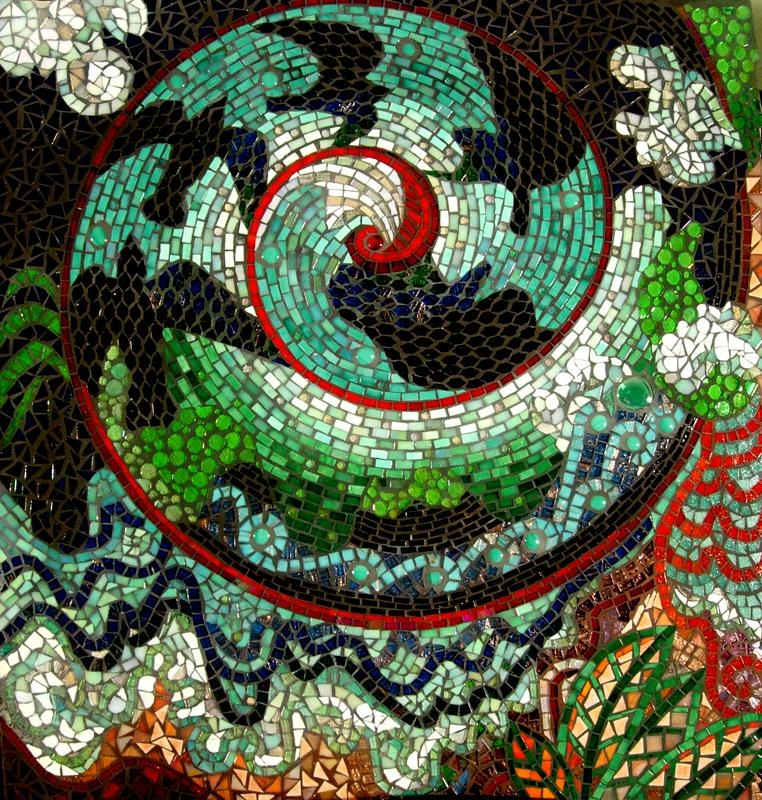 Mosaic Artists Gallery Photos Of Abstract Mosaics – Showcase Mosaics Regarding Abstract Mosaic Wall Art (View 16 of 20)